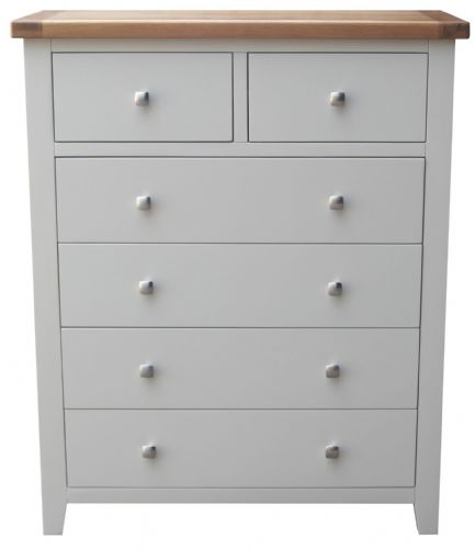 Malvern Grey 2 Over 4 Chest of Drawers